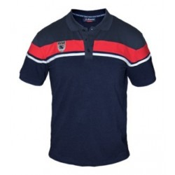 Μπλούζα  Zeus Polo Achille (BLU-RED)